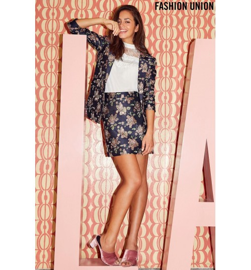 Fashion Union Floral Co-Ord Blazer