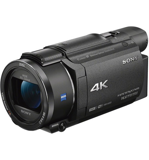 Sony FDRAX53/B 4K HD Video Recording Camcorder,HDR-AX53