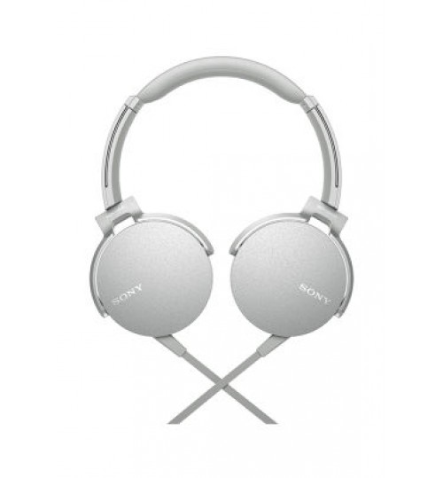 Sony Headphones,MDRXB450AP Extra Bass Smartphone Headset White