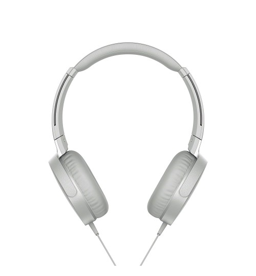 Sony Headphone,Sony,XB550AP,Extra Bass On-Ear Headphone,White