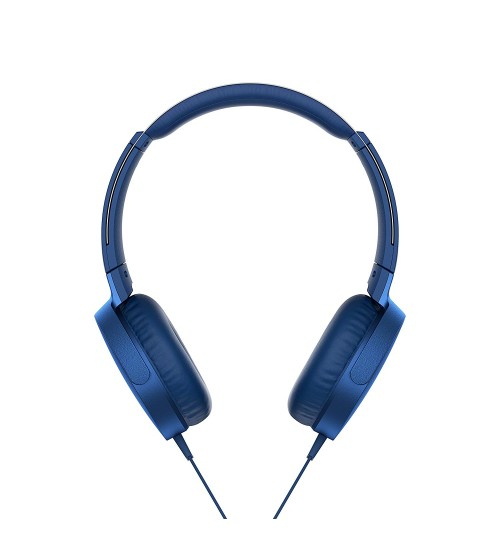 Sony Headphone,Sony,XB550AP,Extra Bass On-Ear Headphone,Blue