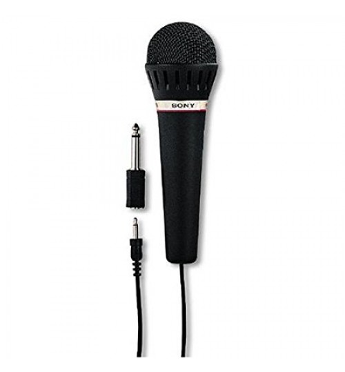 Sony Microphone F-V120 Uni-Directional Vocal Microphone with Built-In On/Off Switch