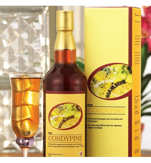 DXN,Cordypine,Fermented Pineapple Juice Enriched with Cordyceps,285ml,Mob 00966568316841