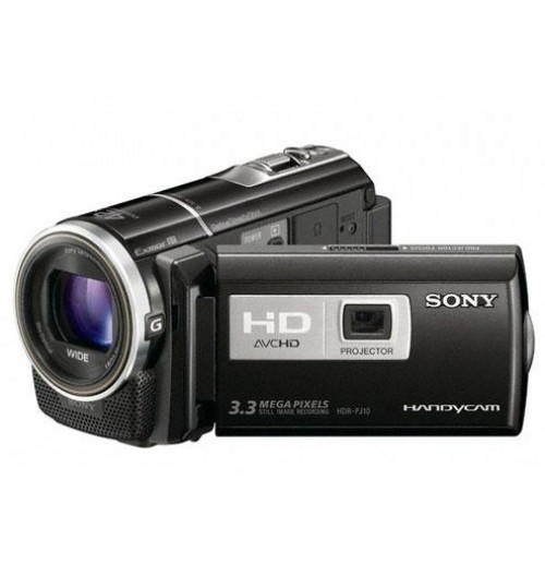 16GB Flash Memory HD Camcorder with Projector -HDR-PJ10E