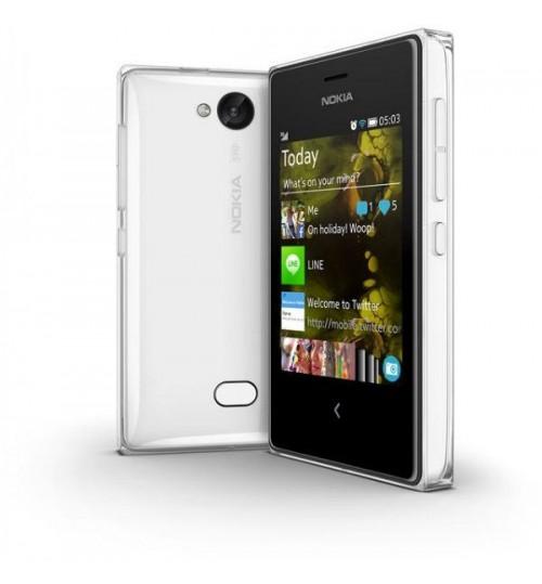 Nokia Asha 503 Dual SIM White