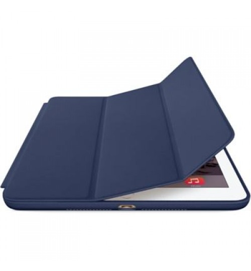 Apple IPad Air 2 Smart Case, Leather, Midnight Blue Color