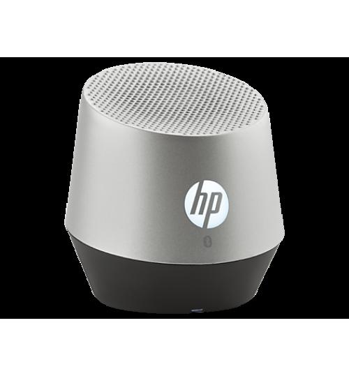 HP S6000 Silver Portable Mini Bluetooth Speaker