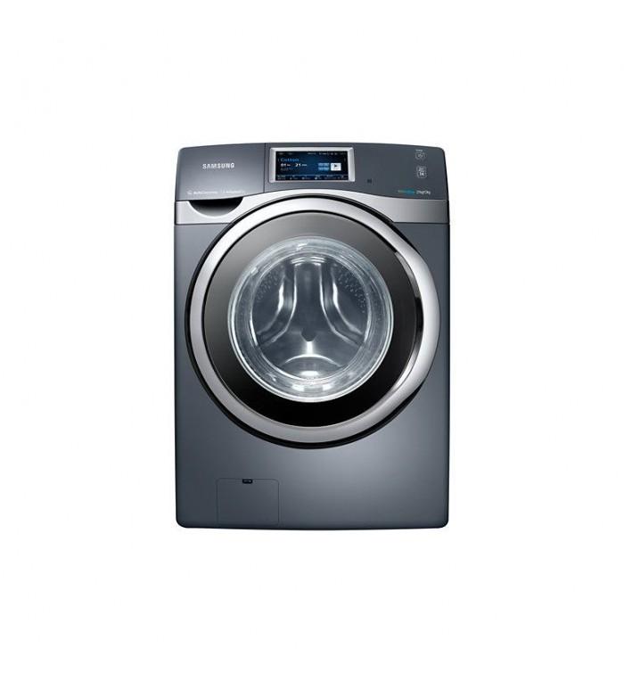 samsung front load washer dryer 21kg12kg gray