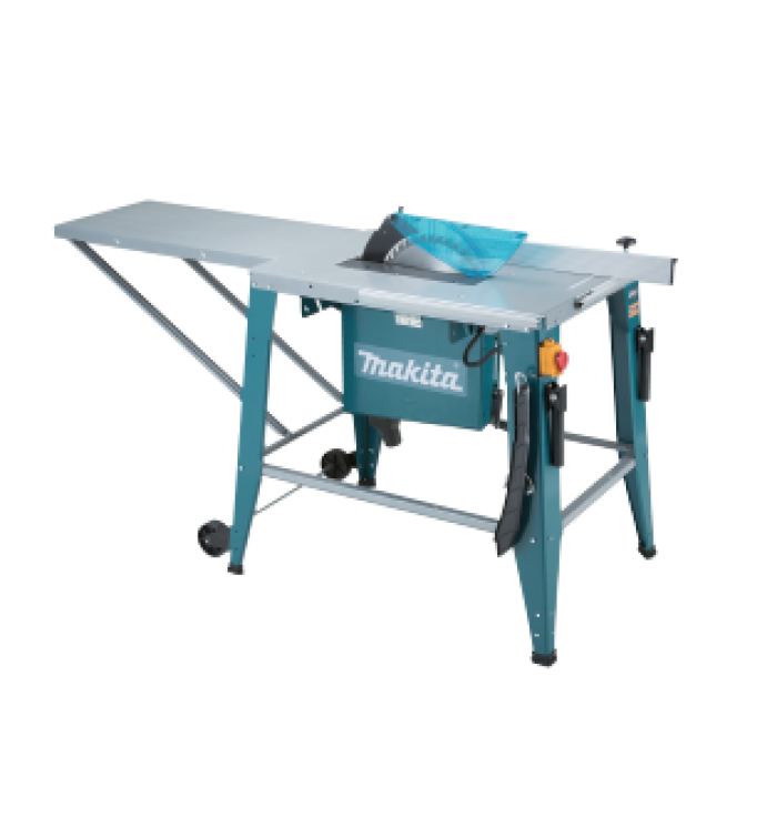 Makita Table Saw Sawing With Heavy Duty Induction Motor