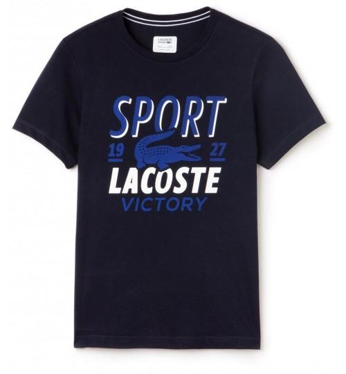 Lacoste T-Shirt for Men - Blue - Size 5 US - 094115 3FJ