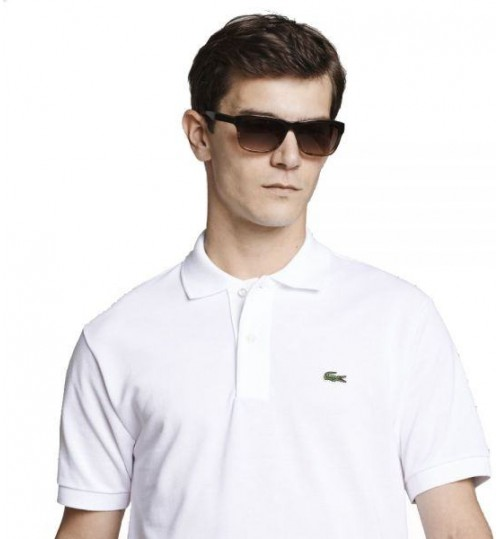 Lacoste Polo T-Shirt for Men - White - Size 5 US - 094129 001