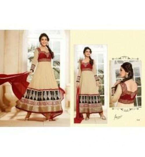 Sonali Bendre Bollywood Designer Anarkali Salwar Kameez with Dupatta-9169-fwc21000411