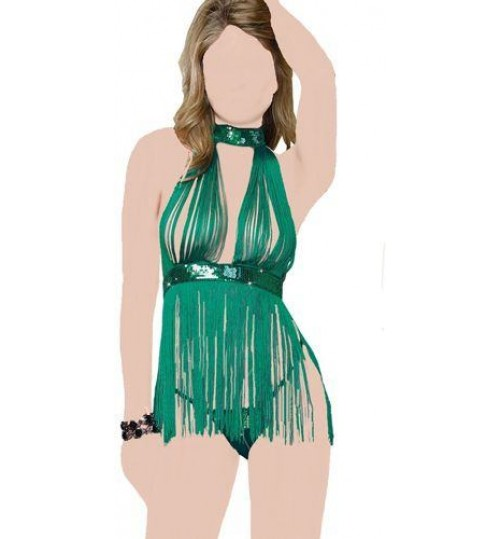 Women Babydolls & Playsuits Free Size - Green