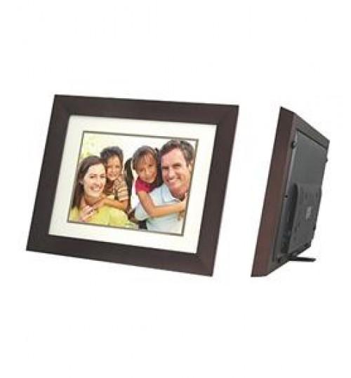 "CAVOT 12"" Digital Photo Frame Wooden"