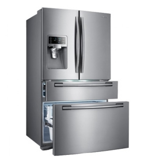 Samsung Refrigerator 28 Cft, White,Warranty Agent, RF288CECASLA