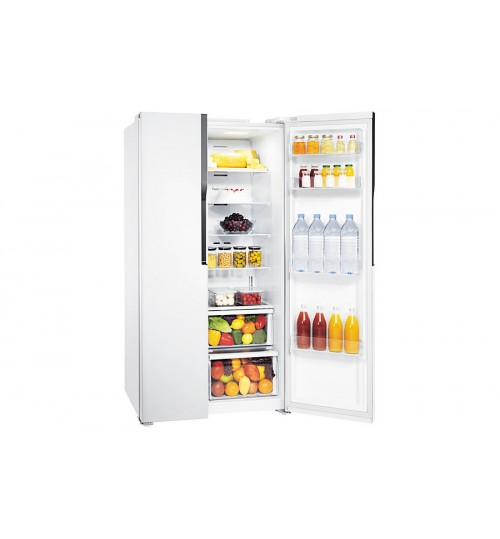 Samsung Refrigerator ,Superstar with Twin Cooling, 561 L / 19.8 cu.ft.Warranty Agent , RS552NRUAWWA