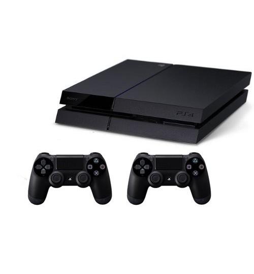 PlayStation 4 ,Sony,1TB,Extra 2 Controller,Guarantee 2 Years from Agent Sony Saudi Arabia