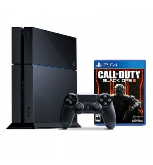 PlayStation 4 ,Sony,1TB,Plus Call of Duty Black Ops ,Extra  Controller,Guarantee 2 Years from Agent Sony Saudi Arabia