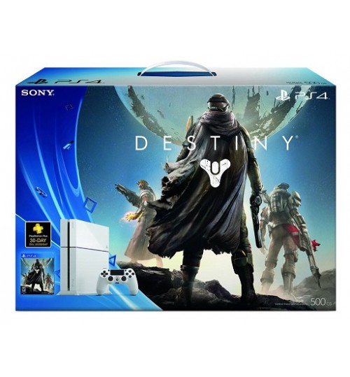 PlayStation 4 ,Sony,500 GB ,Controller ,Destiny TKK Special Ed. PS4,Guarantee 2 Years from Agent Sony Saudi Arabia