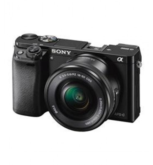 Sony Camera,24.3 MP,11FPS,FULL HD,NFC,Wifi,AF .6 sec,Memory 8GB,ilce 6000l,Guarantee 2 Years