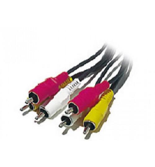 Audio Video,Sony,Stereo AV Dubbing CablesA,UDIO/VIDEO CABLE,VMC-820S,NTSC+NOC,Agent Guarantee