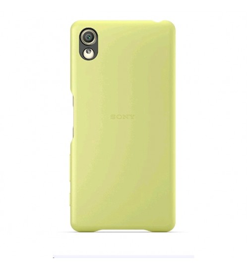 Xperia X Lime Gold back cover,SBC22-LGOLD