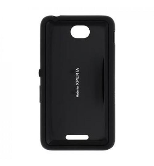 Sony Original Gel Shell ,SMA4152B,Black, for ,E2105 Xperia E4