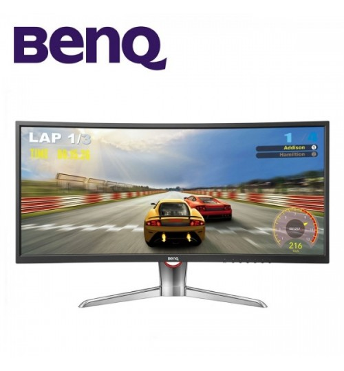"BenQ Monitor, Curve,XR3501,ultra curve Gaming Monitors,9H.LE7LB,QBP ,35"",Guarantee Agent"
