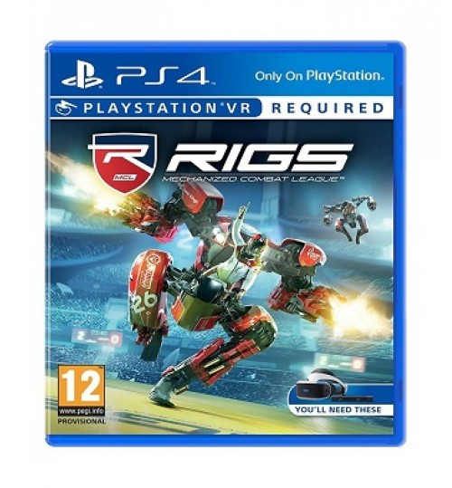 Playstation Games,RIGS Mechanized Com League VR PS4,SC-VR-RIGSMHLEAGUE
