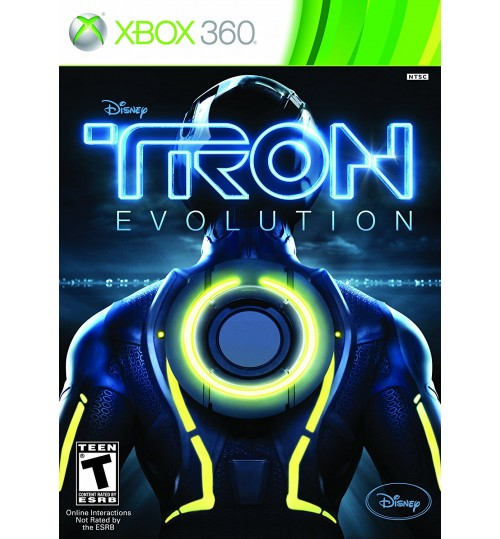 ,TRON:EVOLUTION 3D XB360ألعاب بلايستيشن ,اكس بوكس,ترون ايفليوشن 3 دي,لعبة تطور ترون