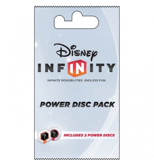 Infinity  2-Power Disks Pack, DISNEY INFINITY POWER DISC PACK SERIES 1