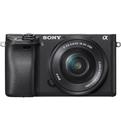 Sony Camera,24.2MP,4K rec,AF 0.05s 425AFP+Lens,α6300 E-mount,APS-C Sensor,ILCE-6300L,Agent Guarantee