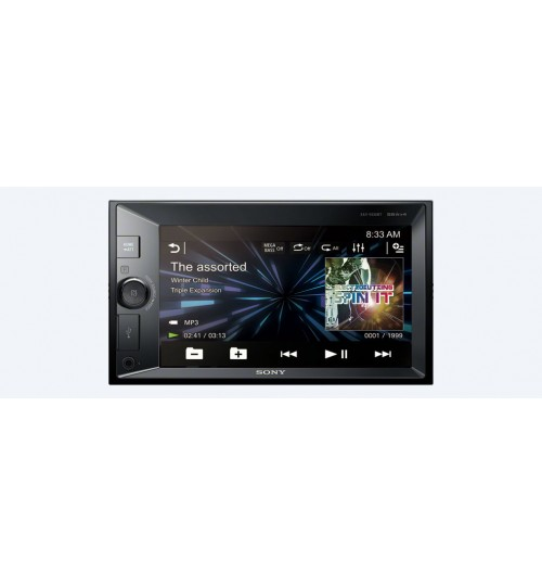 "DVD Player,Size15.75cm (6.2"") ,LCD ,Bluetooth,NFC,DVD Receiv,Touch Screen,XAV-V630BT,Agent Guarantee"