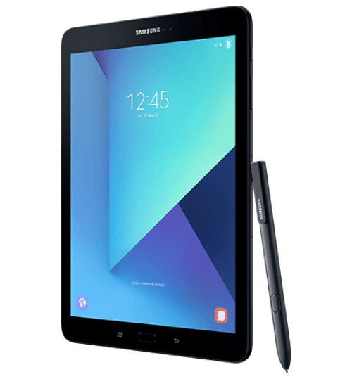 "Samsung Galaxy Tab S3,Display 9.7"",Four Speakers,600mAh,Cam 13 MP,Memory 4+32GB,Wi-Fi,LTE,Black"