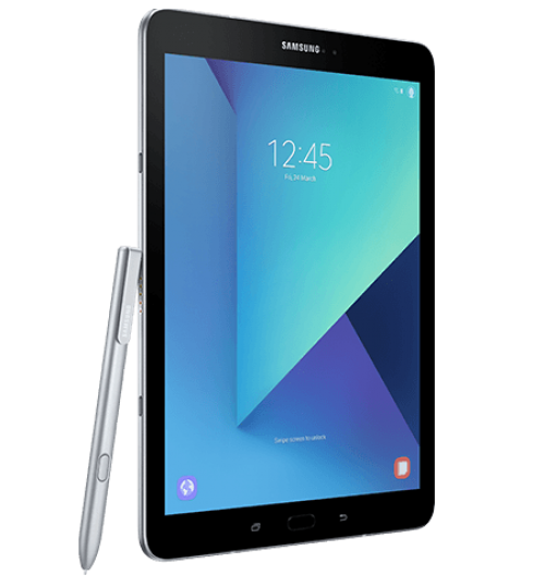 "Samsung Galaxy Tab S3,Display 9.7"",Four Speakers,600mAh,Cam 13 MP,Memory 4+32GB,Wi-Fi,LTE,White"