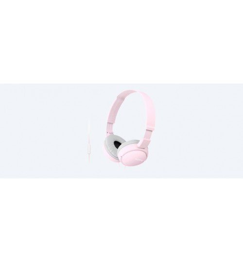 Headphone Sony,ZX110 Headphones,Pink,MDR-ZX110AP,Agent Guarantee