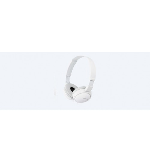 Headphone Sony,ZX110 Headphones,White,MDR-ZX110AP,Agent Guarantee
