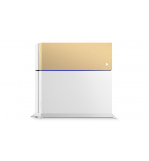 Playstation 4 Custom Faceplate by Sony ,Gold, SLEH-00327/G