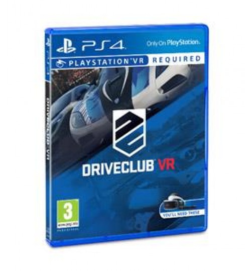 Driveclub VR PS4,Sony Playstation 4, Games