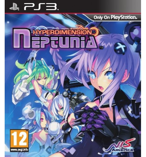 Playstation games,Hyperdimension Neptunia ,PS3,Sony