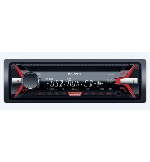 IN CAR RECEIVERS and PLAYERS,Sony,Media receiver with USB,CD Player,MP3 Player,USB Port,LED Lights,CDX-G1150U,Agent Guarantee