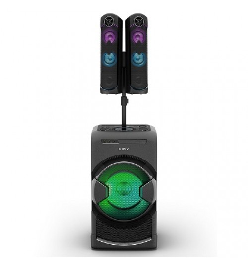 HIGH POWER HOME AUDIO SYSTEM WITH BLUETOOTH TECHNOLOGY,SONY,Portable Personal DJ System,MHC-GT4D,BVlack,Agent Guarantee