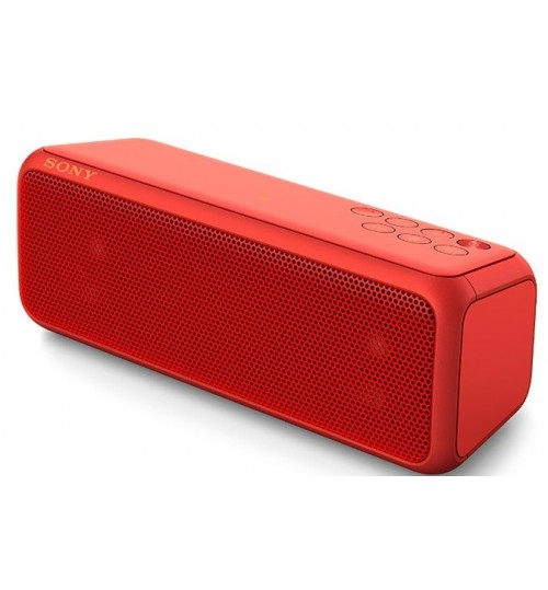 Portable Wireless Speaker,Sony,Bluetooth,24 Hr,Red,SRS-XB3/R,Agent Guarantee