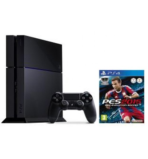 PlayStation 4 ,Evolution Soccer 2015,Black,PS4 WHITE+Pro Evolution Soccer 2015,Agent Guarantee
