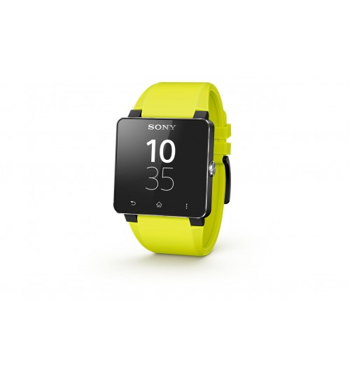 Smart Watches Sony,Smart Watch 2 Sony,WATCH 2 STRAP  Made for Android,Yellow,Agent Guarantee