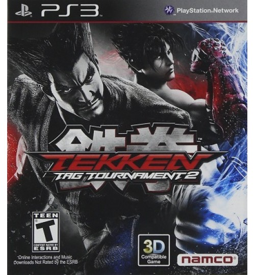 Playstation games,Tekken Tag Tournament 2 PS3,Sony