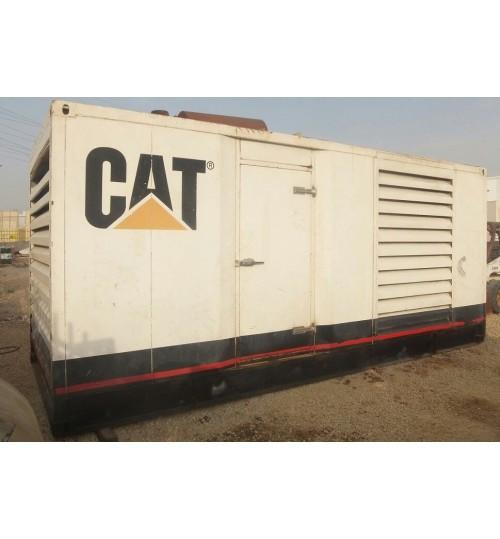 Generator Caterpillar C18 Used Generator Catepillar Model 2009 Power 550 kW,in Very Good Condition like new