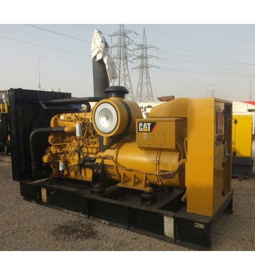 Generator Caterpillar C18 Used Generator Catepillar Model 2012 Power 550 kW,in Very Good Condition like new