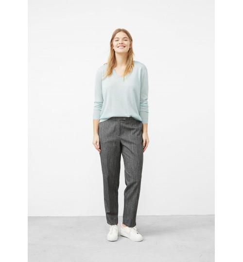MANGO Plus Size Fine-Knit Metallic Sweater