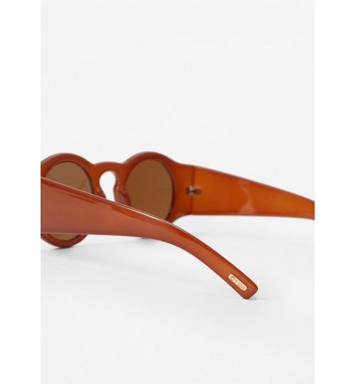 MANGO Rounded Sunglasses